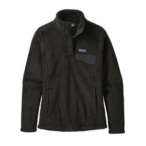 Patagonia Black Womens Re-Tool Snap-T Pullover